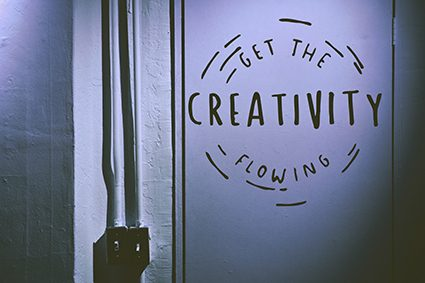Get the creativity going