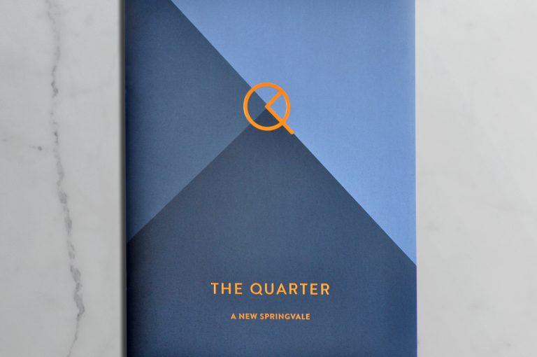The Quarter Brochure Cover