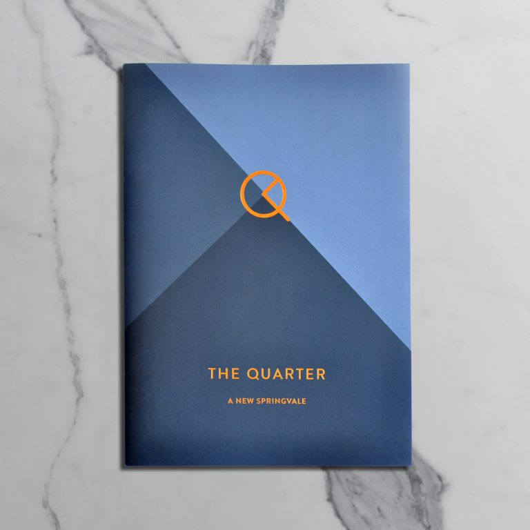 The Quarter Brochure Cover
